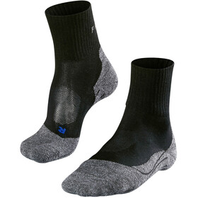 Falke TK2 Cool Kurze Trekkingsocken Damen black mix